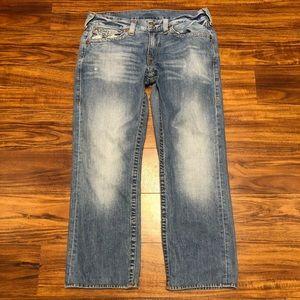 True Religion Straight Jeans.